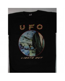 UFO - Lights Out Tour '77 T-shirt